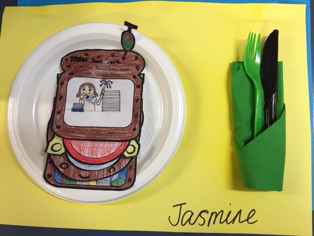 book report sandwich maker